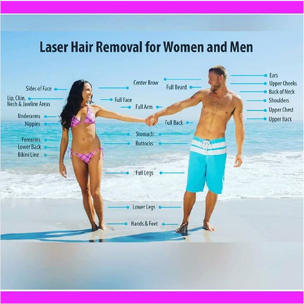 Get Ready For Summer! Laser Hair Removal For Women And Men