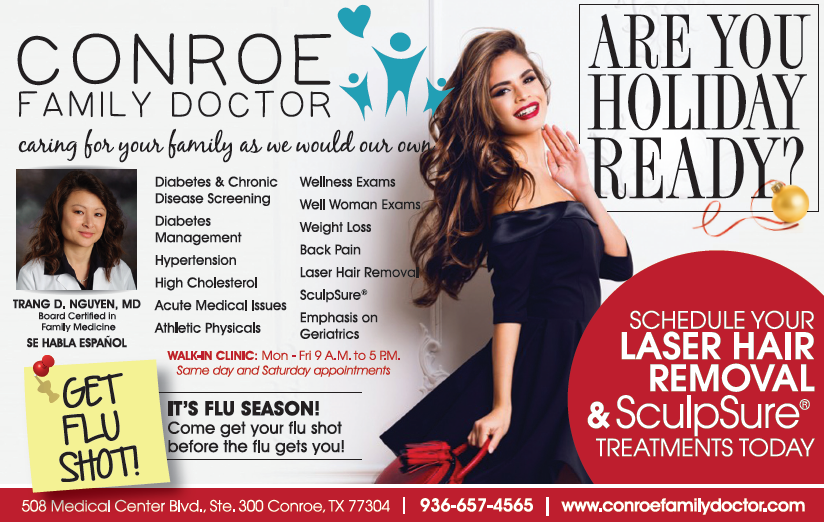 Are You Holiday Ready Conroe Family Doctor Can Get You Ready For